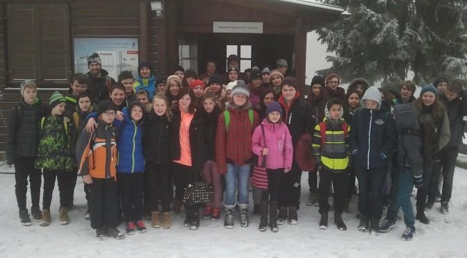 Wintersporttag der 7. Klassen auf der Silberhütte