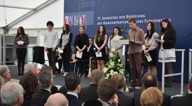Jugendbegegnung 2016 in der Gedenkstätte Flossenbürg